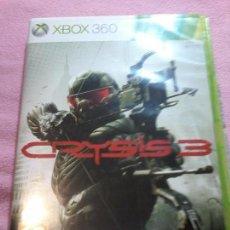 Videojuegos y Consolas: CRYSIS 3 - XBOX 360 XBOX360 PAL ESP SIN MANUAL. Lote 113126031