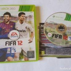 Videojuegos y Consolas: FIFA 12 XBOX 360 PAL ESPAÑA. Lote 113188047