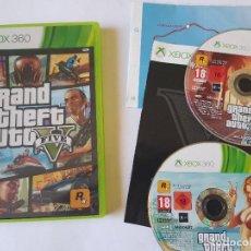 Videojuegos y Consolas: GTA V 5 XBOX 360 PAL ESPAÑA. Lote 113189603