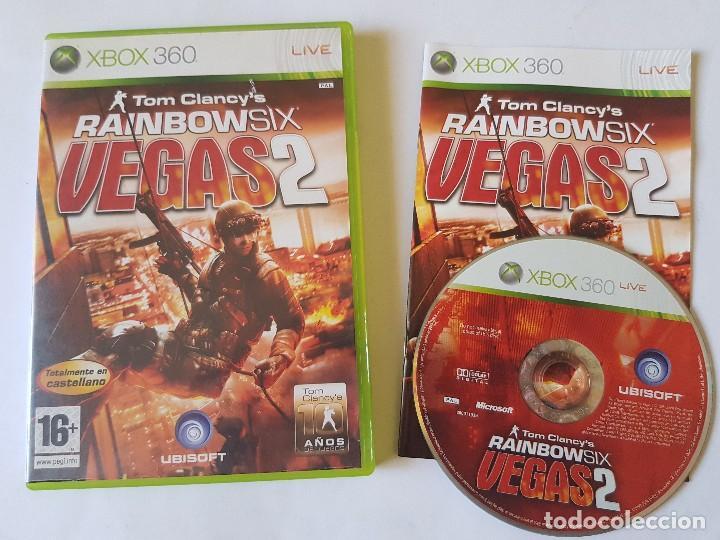 RAIMBOW SIX VEGAS 2 XBOX 360 PAL ESPAÑA (Juguetes - Videojuegos y Consolas - Microsoft - Xbox 360)