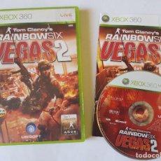 Videojuegos y Consolas: RAIMBOW SIX VEGAS 2 XBOX 360 PAL ESPAÑA. Lote 113189947