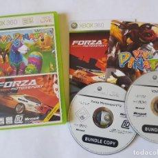Videojuegos y Consolas: FORZA MOTORSPORT 2 / VIVA PIÑATA XBOX 360 PAL ESPAÑA. Lote 113190351