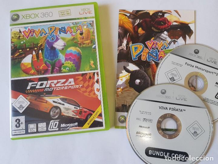 FORZA MOTORSPORT 2 / VIVA PIÑATA XBOX 360 PAL ESPAÑA (Juguetes - Videojuegos y Consolas - Microsoft - Xbox 360)