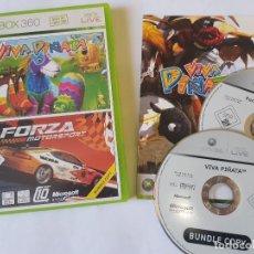 Videojuegos y Consolas: FORZA MOTORSPORT 2 / VIVA PIÑATA XBOX 360 PAL ESPAÑA. Lote 113190491