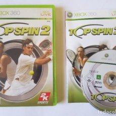 Videojuegos y Consolas: TOP SPIN 2 XBOX 360 PAL ESPAÑA. Lote 113194795