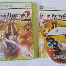 Videojuegos y Consolas: SAMURAI WARRIORS 2 XBOX 360 PAL ESPAÑA. Lote 113195799