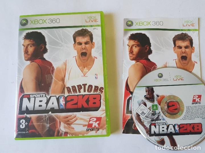 NBA 2K8 XBOX 360 PAL ESPAÑA (Juguetes - Videojuegos y Consolas - Microsoft - Xbox 360)