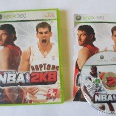 Videojuegos y Consolas: NBA 2K8 XBOX 360 PAL ESPAÑA. Lote 113198619