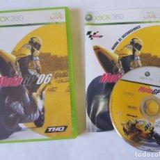 Videojuegos y Consolas: MOTO GP 06 XBOX 360 PAL ESPAÑA. Lote 113198723