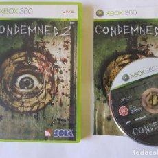 Videojuegos y Consolas: CONDEMNED 2 XBOX 360 PAL. Lote 113199663