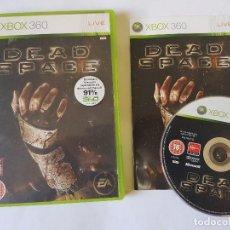 Videojuegos y Consolas: DEAD SPACE XBOX 360 PAL. Lote 113200347