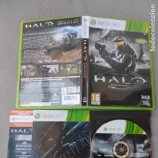 Videojuegos y Consolas: XBOX 360 HALO COMBAT EVOLVED ANNIVERSARY PAL ESP COMPLETO. Lote 113450443