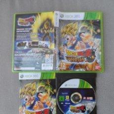Videojuegos y Consolas: XBOX 360 DRAGON BALL Z ULTIMATE TENKAICI PAL ESP COMPLETO. Lote 113587023