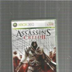 Videojuegos y Consolas: XBOX 360 ASSASSIN CREED II. Lote 113892679