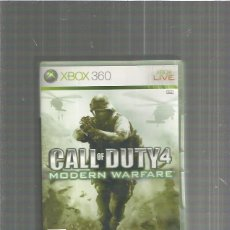 Videojuegos y Consolas: XBOX 360 CALL DUTY 4. Lote 113892811