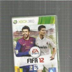 Videojuegos y Consolas: XBOX 360 FIFA 12. Lote 113892931