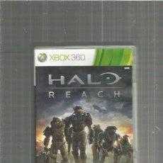 Videojuegos y Consolas: XBOX 360 HALO REACH. Lote 113893295
