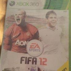 Videojuegos y Consolas: FIFA 12 XBOX 360. Lote 114423351