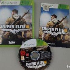 Videojuegos y Consolas: SNIPER ELITE 3 - JUEGO XBOX 360. Lote 115041195