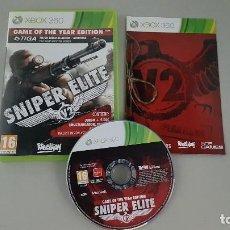 Videojuegos y Consolas: SNIPER ELITE - GAME OF THE YEAR EDITION - JUEGO XBOX 360. Lote 115041939