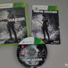 Videojuegos y Consolas: TOMB RAIDER - JUEGO XBOX 360. Lote 115087075