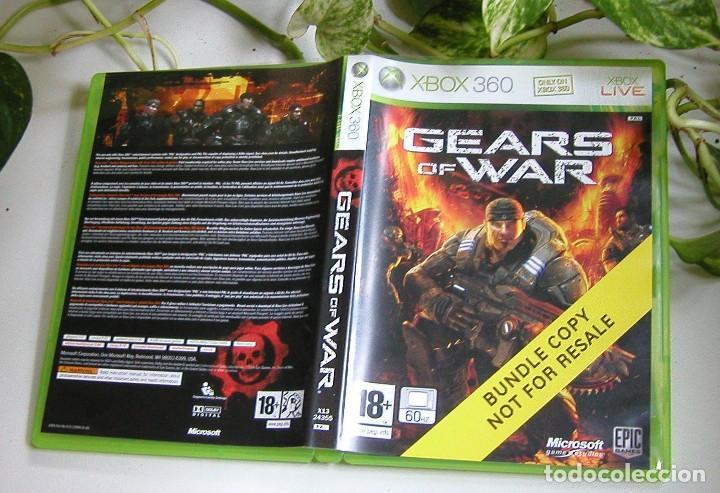 JUEGO DE XBOX 360 GEARS OF WAR EN PERFECTO ESTADO Y COMPLETO PAL (Juguetes - Videojuegos y Consolas - Microsoft - Xbox 360)