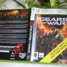 Videojuegos y Consolas: JUEGO DE XBOX 360 GEARS OF WAR EN PERFECTO ESTADO Y COMPLETO PAL. Lote 115303495