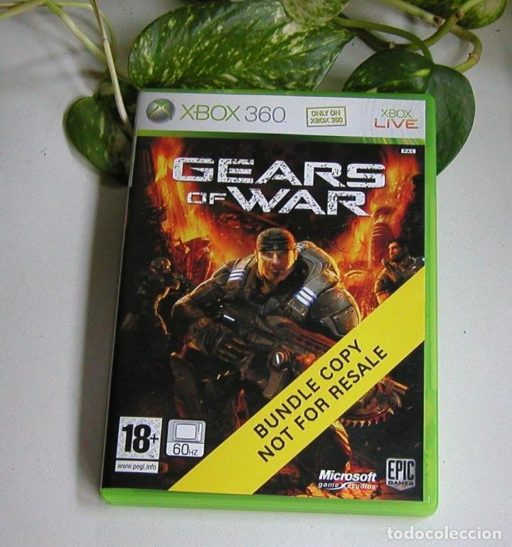 Videojuegos y Consolas: JUEGO DE XBOX 360 GEARS OF WAR EN PERFECTO ESTADO Y COMPLETO PAL - Foto 5 - 115303495