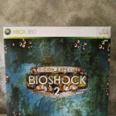 Videojuegos y Consolas: BIOSHOCK 2 EDICIÓN ESPECIAL XBOX 360 INCOMPLETO . Lote 115330759