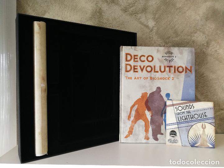 Videojuegos y Consolas: BIOSHOCK 2 EDICIÓN ESPECIAL XBOX 360 INCOMPLETO - Foto 3 - 115330759