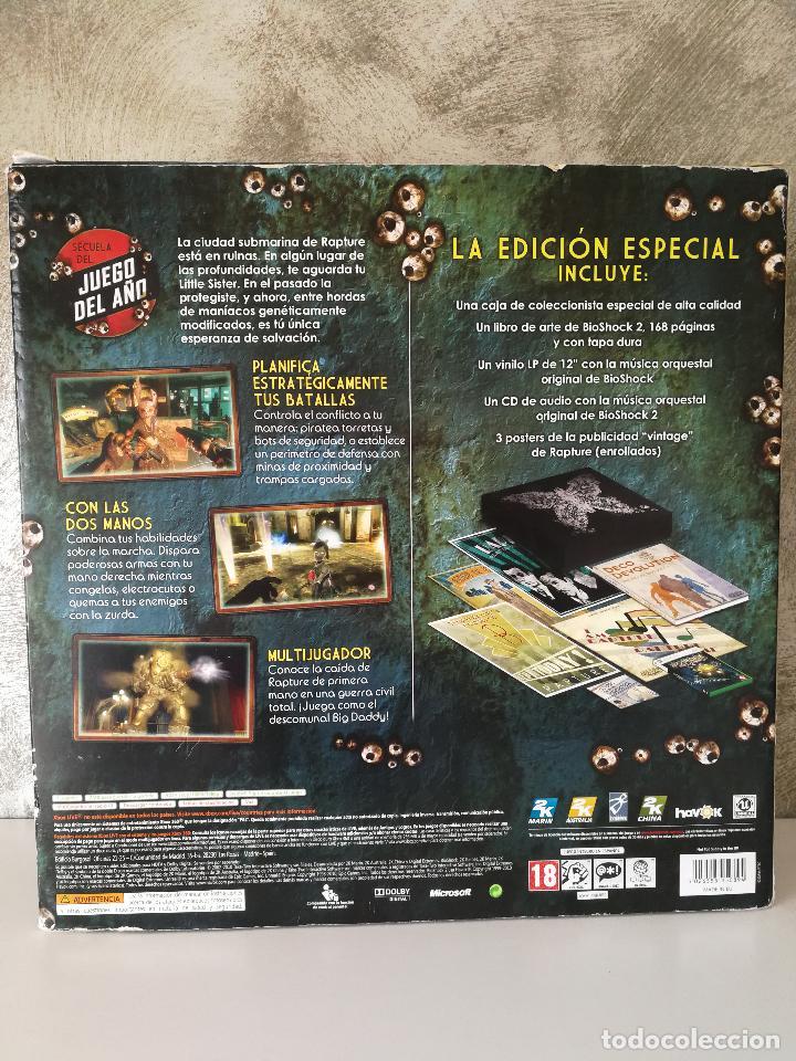 Videojuegos y Consolas: BIOSHOCK 2 EDICIÓN ESPECIAL XBOX 360 INCOMPLETO - Foto 6 - 115330759