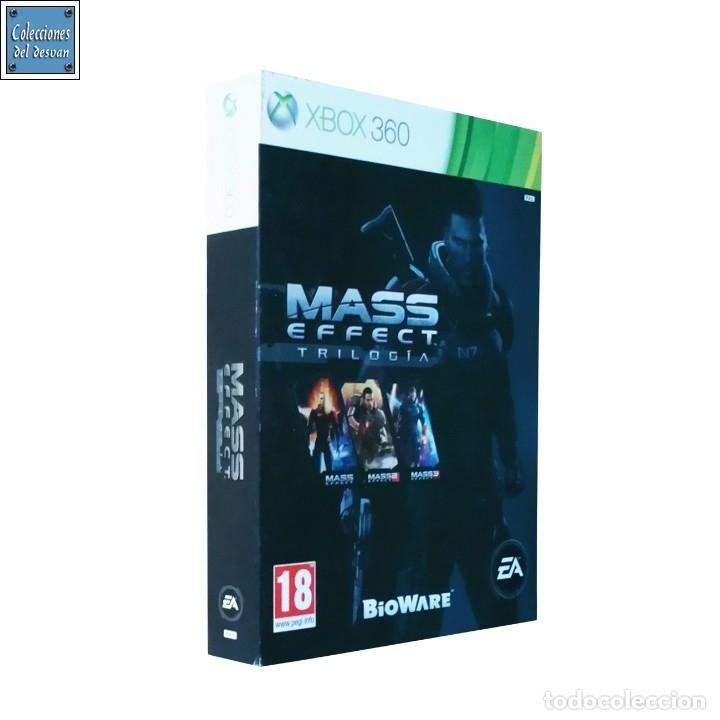MASS EFFECT TRILOGIA / JUEGO XBOX 360 / PAL / ELECTRONIC ARTS 2012 (Juguetes - Videojuegos y Consolas - Microsoft - Xbox 360)