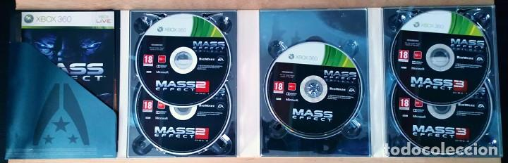 Videojuegos y Consolas: Mass Effect Trilogia / Juego Xbox 360 / PAL / Electronic Arts 2012 - Foto 7 - 115490931