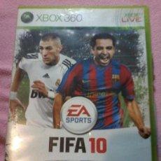 Videojuegos y Consolas: JUEGO FIFA 10 - XBOX 360. Lote 116181367