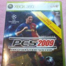 Videojuegos y Consolas: XBOX360 PRO EVOLUTION SOCCER 2009 (PES 2009). Lote 116182395