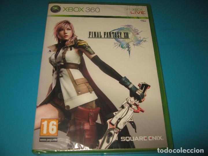 FINAL FANTASY XIII XBOX 360 PAL ESPAÑA PRECINTADO (Juguetes - Videojuegos y Consolas - Microsoft - Xbox 360)