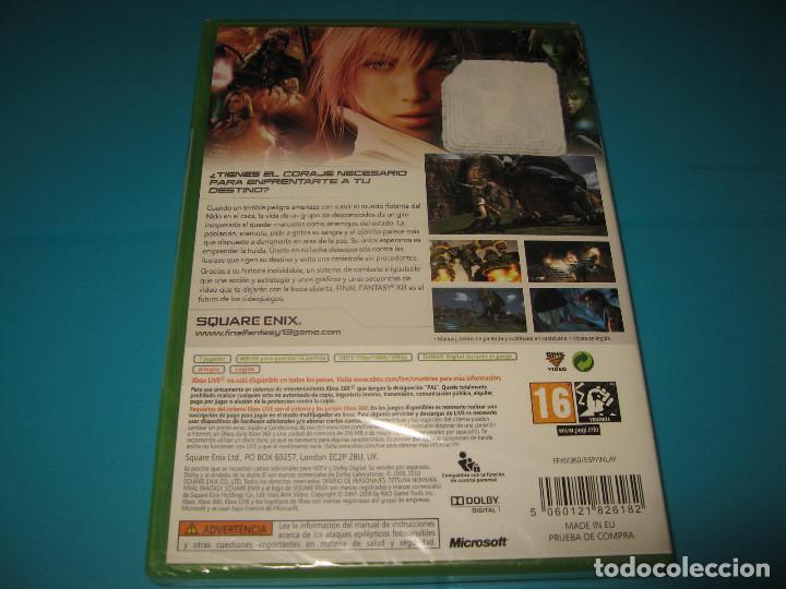 Videojuegos y Consolas: FINAL FANTASY XIII XBOX 360 PAL ESPAÑA PRECINTADO - Foto 2 - 116259663