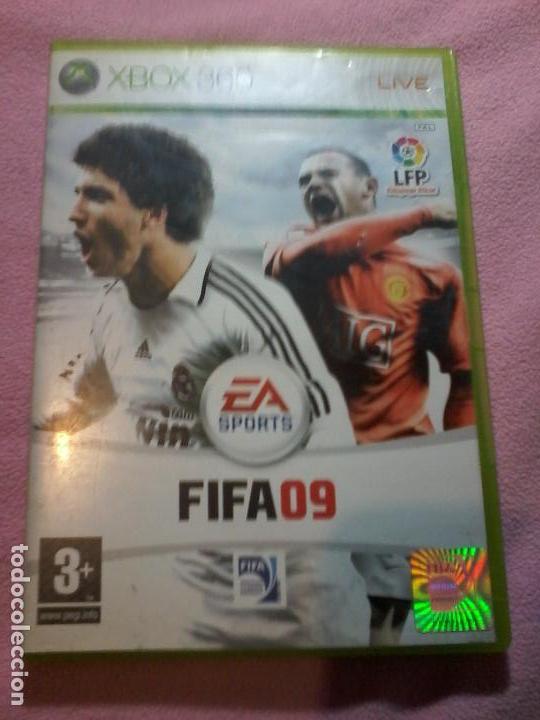 FIFA 09 JUEGO PARA XBOX 360 PAL ESP ESPAÑA (Juguetes - Videojuegos y Consolas - Microsoft - Xbox 360)