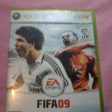 Videojuegos y Consolas: FIFA 09 JUEGO PARA XBOX 360 PAL ESP ESPAÑA. Lote 116363835