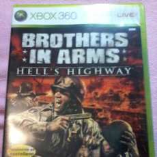 Videojuegos y Consolas: XBOX 360 BROTHERS IN ARMS – HELL'S HIGHWAY. Lote 116369911