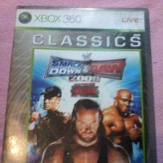 Videojuegos y Consolas: WWE SMACKDOWN VS RAW 2008· MICROSOFT XBOX 360 PAL XBOX 360 XBOX360. Lote 116371483
