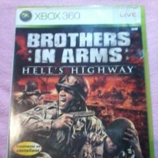 Videojuegos y Consolas: XBOX 360 BROTHERS IN ARMS – HELL'S HIGHWAY. Lote 116373203