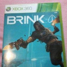 Videojuegos y Consolas: BRINK - XBOX 360 PAL ESPAÑA . Lote 116374363