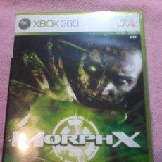 Videojuegos y Consolas: MORPHX - XBOX 360 PAL MICROSOFT XBOX 360.ESPAÑA. Lote 116395155