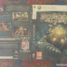 Videojuegos y Consolas: SOLO PORTADA XBOX 360 X360 X-360 BIOSHOCK 2. Lote 116726811