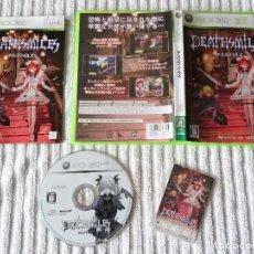 Videojogos e Consolas: JUEGO PARA XBOX 360 - DEATHSMILES + TARJETA CAVE ED. JAPONESA. Lote 117172875