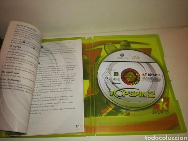 Videojuegos y Consolas: Top Spin 2pal España Xbox 360 - Foto 4 - 117250366