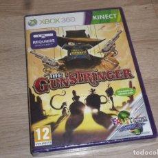 Videojuegos y Consolas: XBOX360 JUEGO THE GUN SRINGER - NUEVO - VERSIÓN ESPAÑOLA - KINECT. Lote 117761455