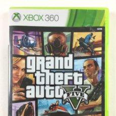 Videojuegos y Consolas: JUEGO GAME XBOX 360 GRAND THEFT AUTO V FIVE . Lote 118337059