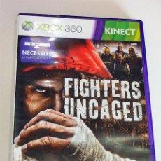 Videojuegos y Consolas: JUEGO GAME XBOX 360 FIGHTERS UNCAGED. Lote 118337647